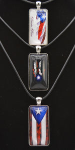 Men's Rope Waving Flag Necklace