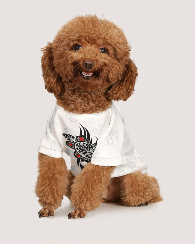 TAINO SYMBOL TATOO DOG TEE