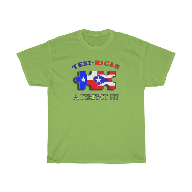 Texi-Rican Perfect Fit - Unisex Heavy Cotton Tee