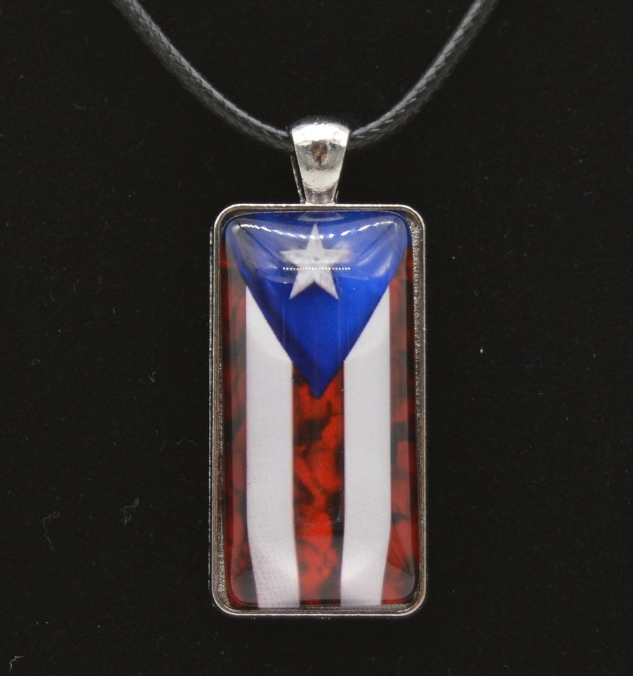 Men's Rope Flag Necklace