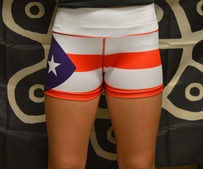 Booty Shorts - Puerto Rican Style