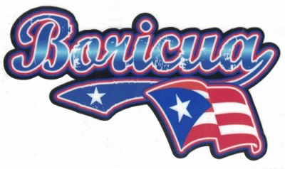 Boricua Decal