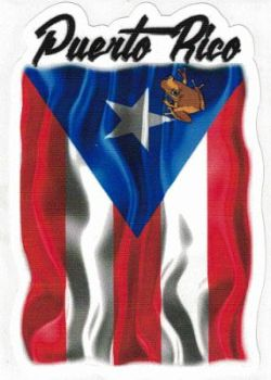 Puerto Rican Coqui on Flag
