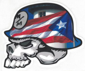 Skull Flag Decal