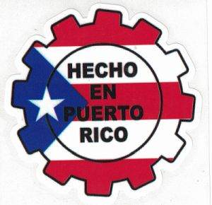Made In Puerto Rico Decal