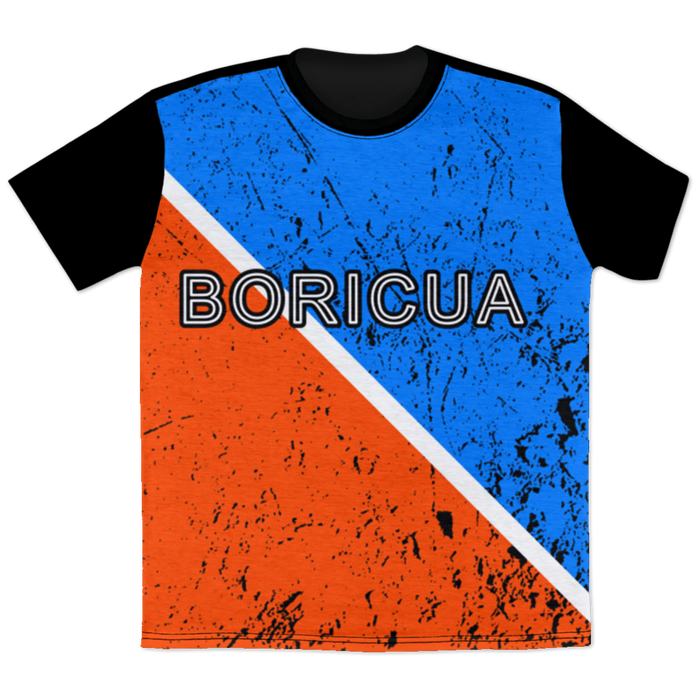 Boricua Red Blue T-Shirt