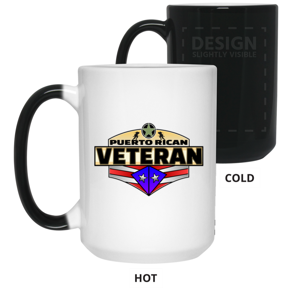 Veteran 15 oz. Color Changing Mug