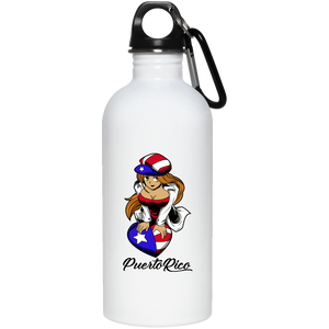 PR Angel 20 oz. Stainless Steel Water Bottle