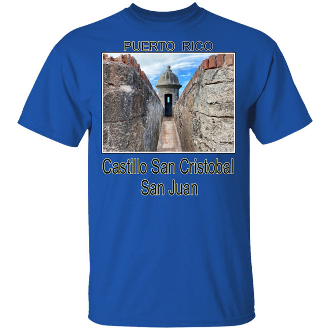 Castillo San Cristobal 5.3 oz. T-Shirt