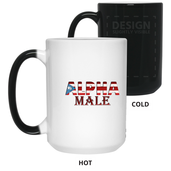 Alpha Male 15 oz. Color Changing Mug