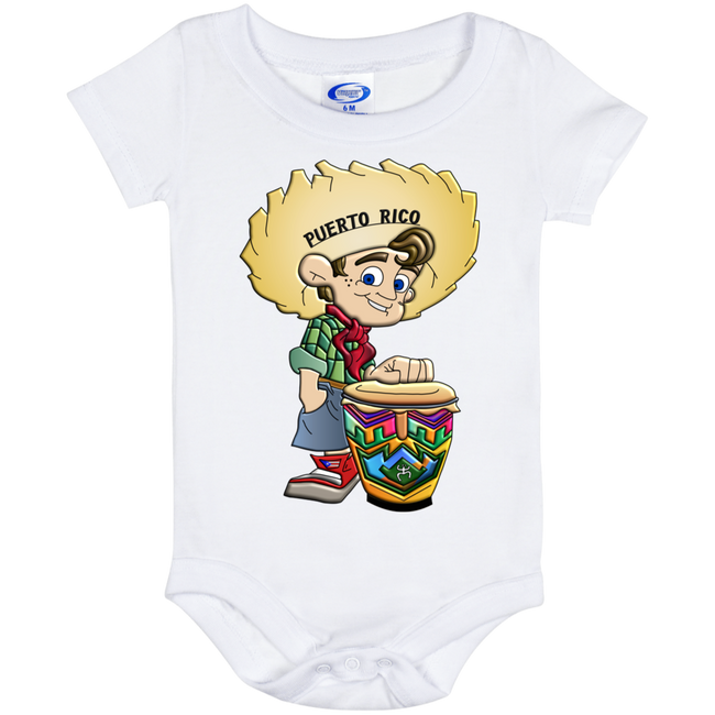 PR Farm Boy Baby Onesie 6 Month