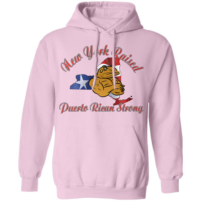 New York Raised PR Strong Pullover Hoodie