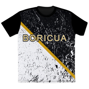 Boricua Black White T-Shirt