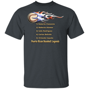 Baseball Legends 5.3 oz. T-Shirt