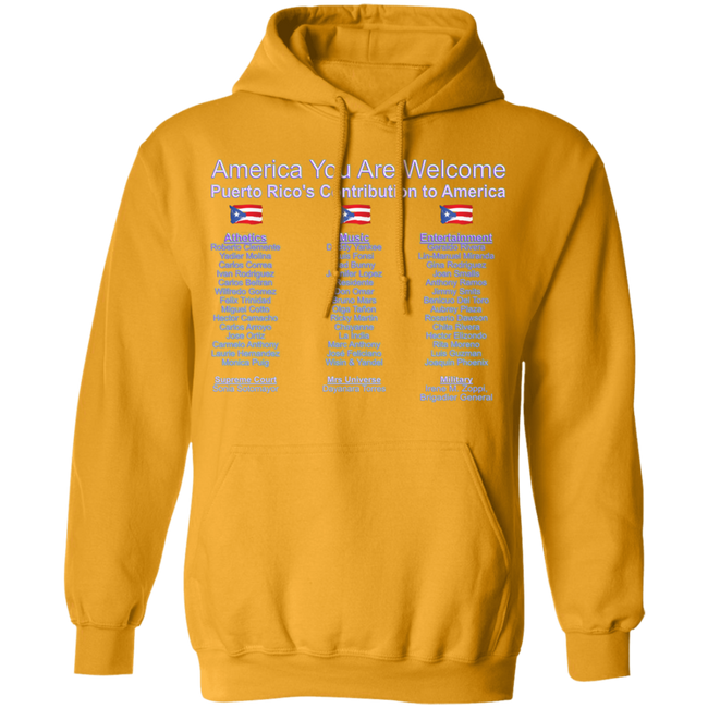 How We Contribute Pullover Hoodie 8 oz.