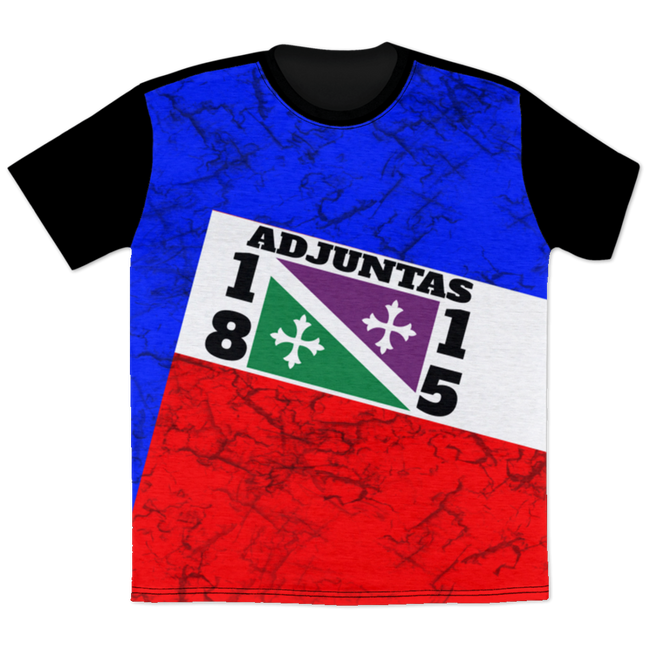 AOTEE All Over Print T-Shirt - Puerto Rican Pride