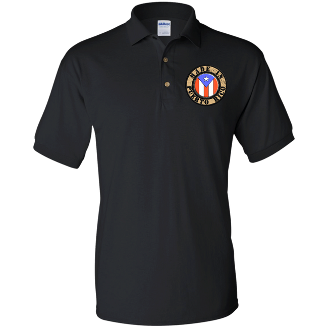 Made In PR Jersey Polo Shirt