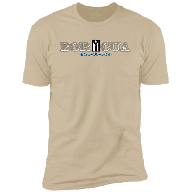 Black Flag Boricua Premium Short Sleeve T-Shirt