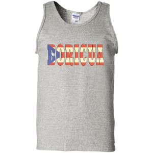 Boricua 100% Cotton Tank Top