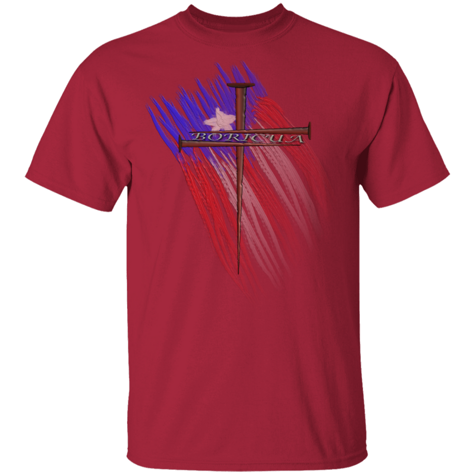 BORICUA CROSS 5.3 oz. T-Shirt