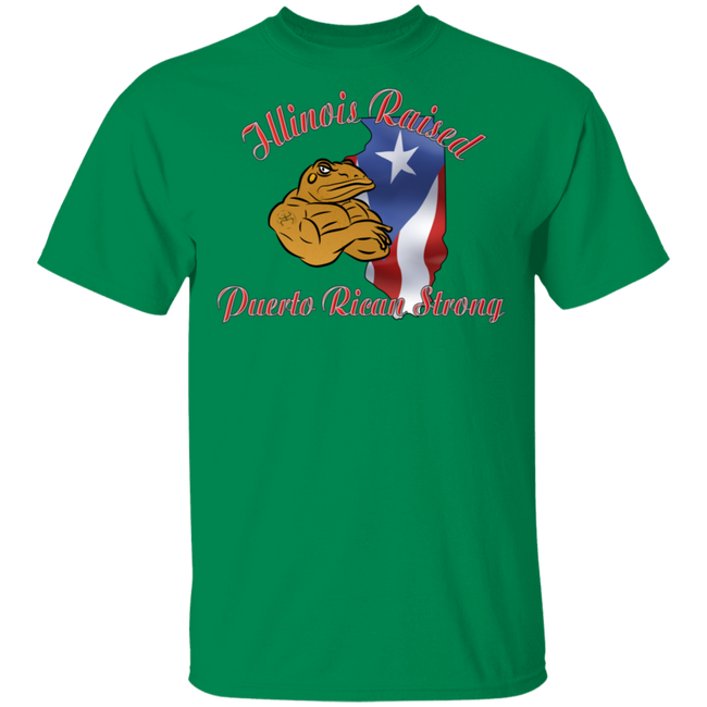 Illinois Raised PR Strong  5.3 oz. T-Shirt