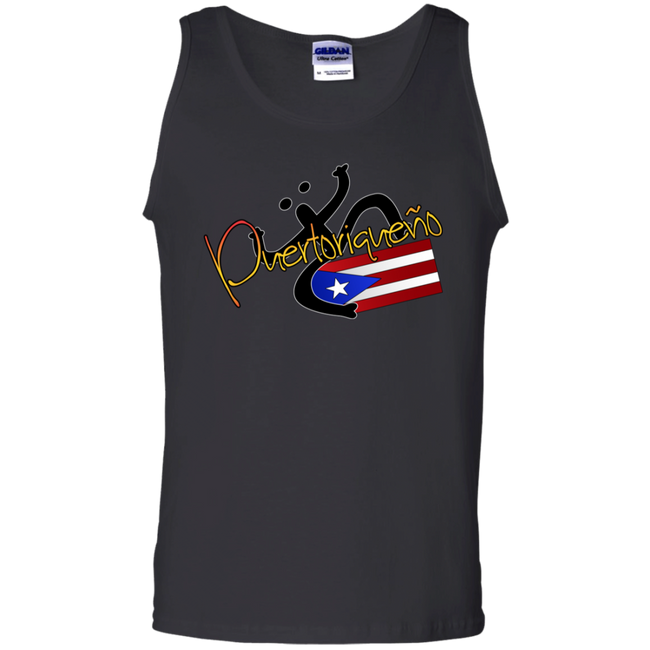 Puertoriqueno  Coqui  100% Cotton Tank Top