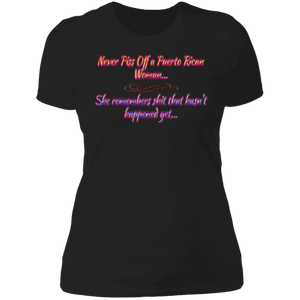 Piss off PR Ladies' Boyfriend T-Shirt