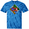 PR Veteran 100% Cotton Tie Dye T-Shirt