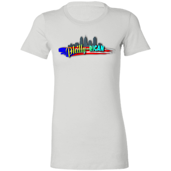 Philly-Rican Ladies' Favorite T-Shirt