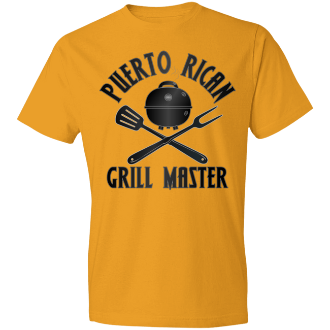 Puerto Rican Grill Master Lightweight T-Shirt 4.5 oz - Puerto Rican Pride
