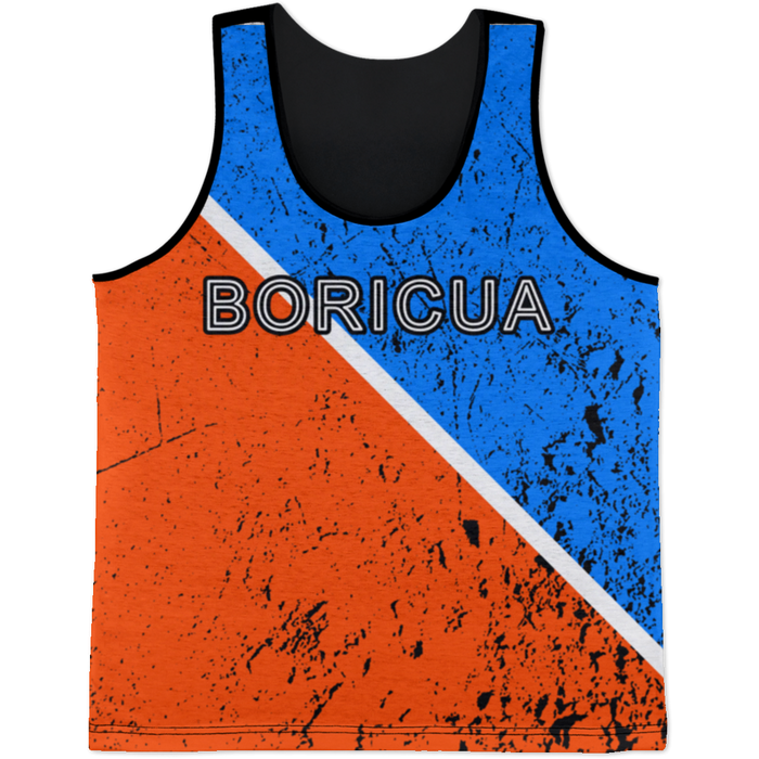 Boricua Red Blue Tank Top