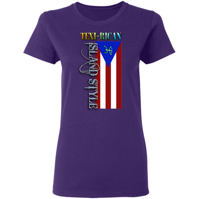 Texi-Rican Ladies' 5.3 oz. T-Shirt