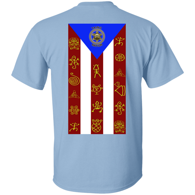 Taino Nation Flag/Emblem 5.3 oz. T-Shirt