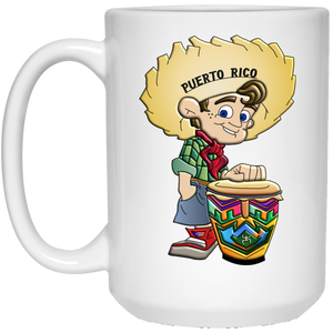 PR Farm Boy 15 oz. White Mug