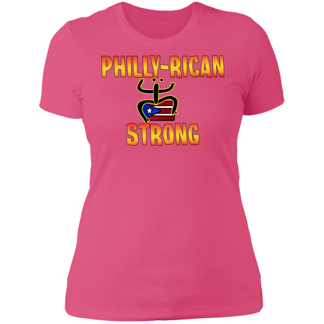 Philly-Rican Strong  Ladies' Boyfriend T-Shirt
