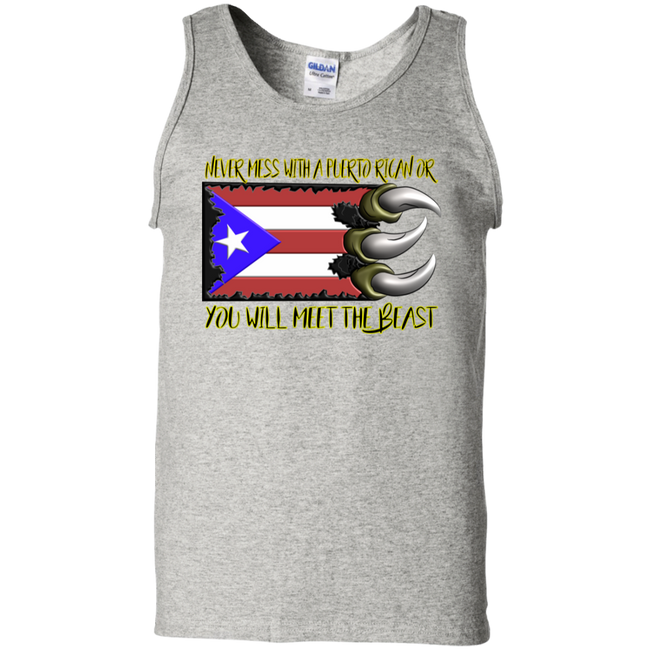 Meet the Beast 100% Cotton Tank Top