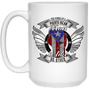 Power PR Man 15 oz. White Mug