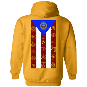 TAINO NATION FLAG  Hoodie 8 oz.