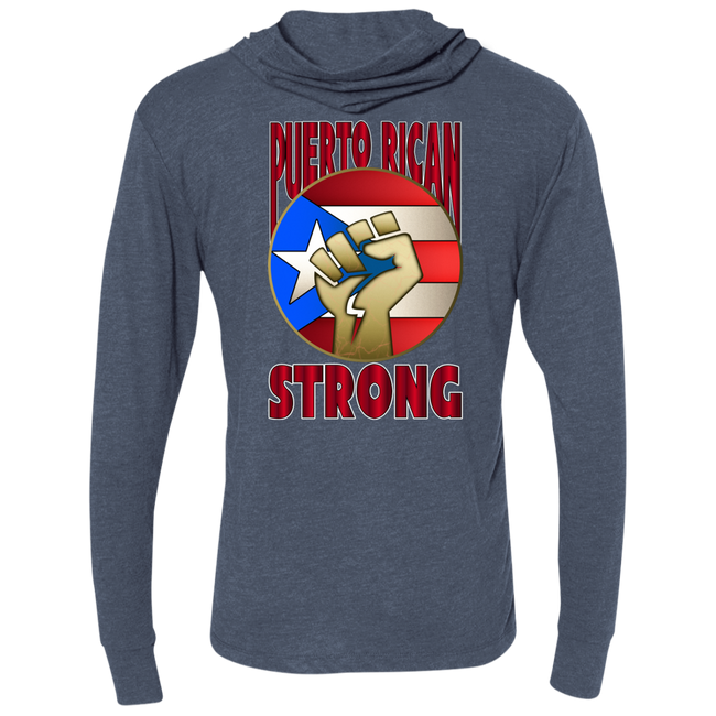 Puerto Rican Strong Unisex  Hooded T-Shirt