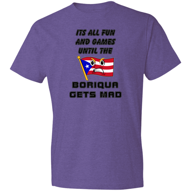 Fun and Games T-Shirt 4.5 oz - Puerto Rican Pride