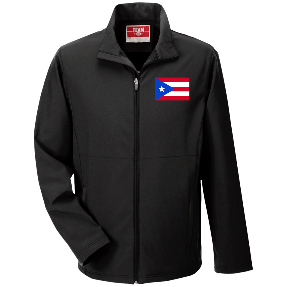 Men's Soft Shell Jacket - Quality - Embroidered Flag