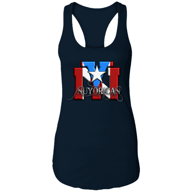 NY RICAN Ladies Ideal Racerback Tank