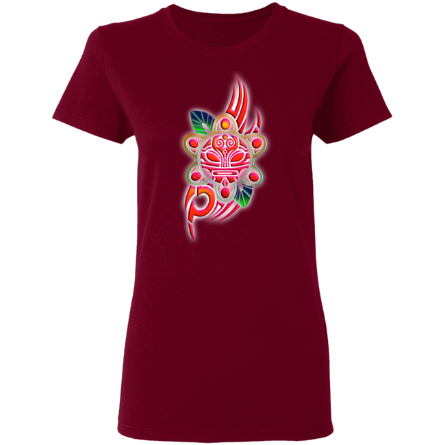 Taino Sun Symbol Ladies' 5.3 oz. T-Shirt