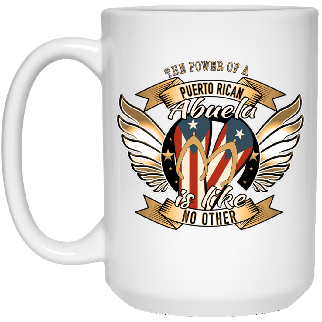 Abuela Power 15 oz. White Mug