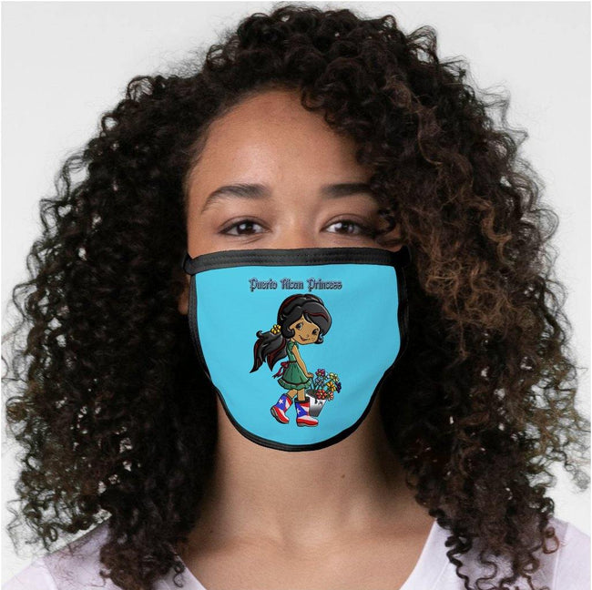 PR Princess (3 Colors) Face Mask Face Mask - Puerto Rican Pride