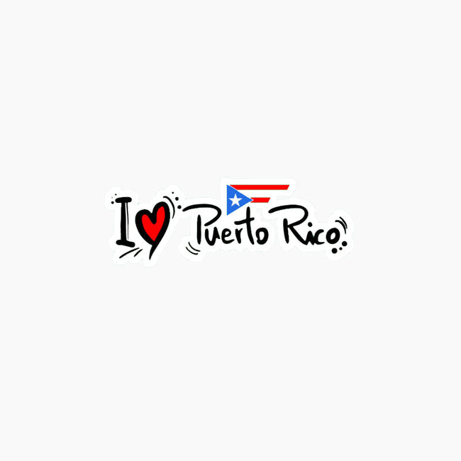 I (Heart) Puerto Rico Decal