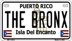 The Bronx License Plate