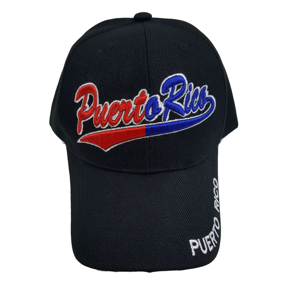 Puerto Rico Two-Color Baseball Hat