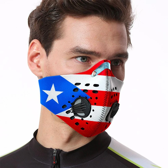 1 - FLAG Face Mask - Quality