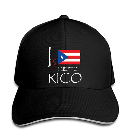 I Love Puerto Rico Hat